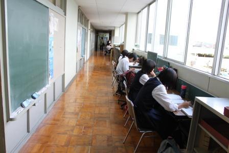 数研前で朝ひと勉強