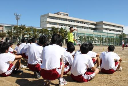 富田先生の体育
